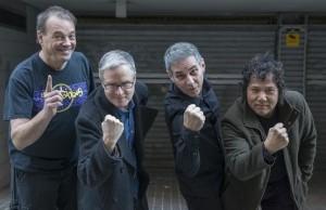 BARCELONA  12 01 2016 El grupo THE RUBINOOS antes de su concierto en la Sala Apolo  FOTO FERRAN SENDRA