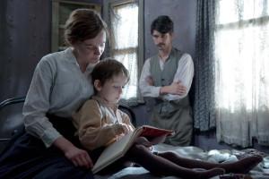 Sufragistas Maud y su familia