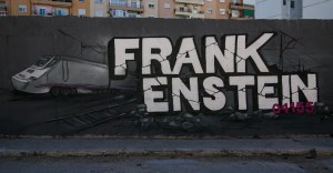 FRANKENSTEIN 04155 GRAFFITI